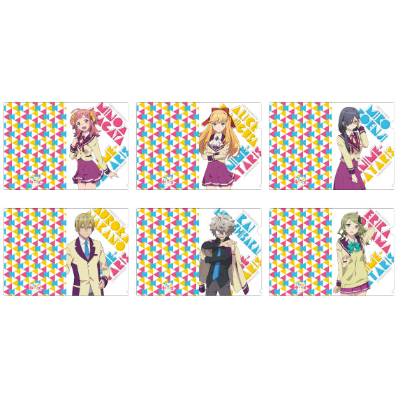 アニメガタリズ A4クリアファイル(全6種類)