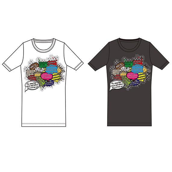 「名作アニメの法則」Tシャツ